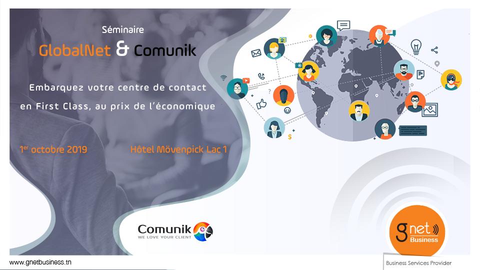 GlobalNet et Comunik s'associent !
