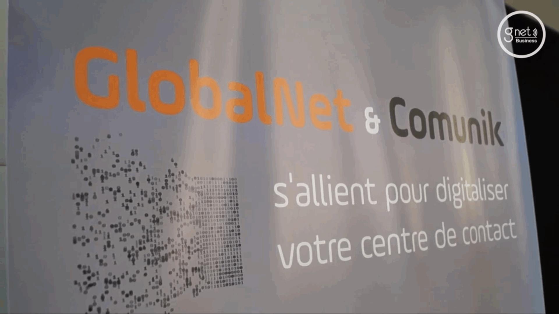 Signature du Partenariat GlobalNet & Comunik